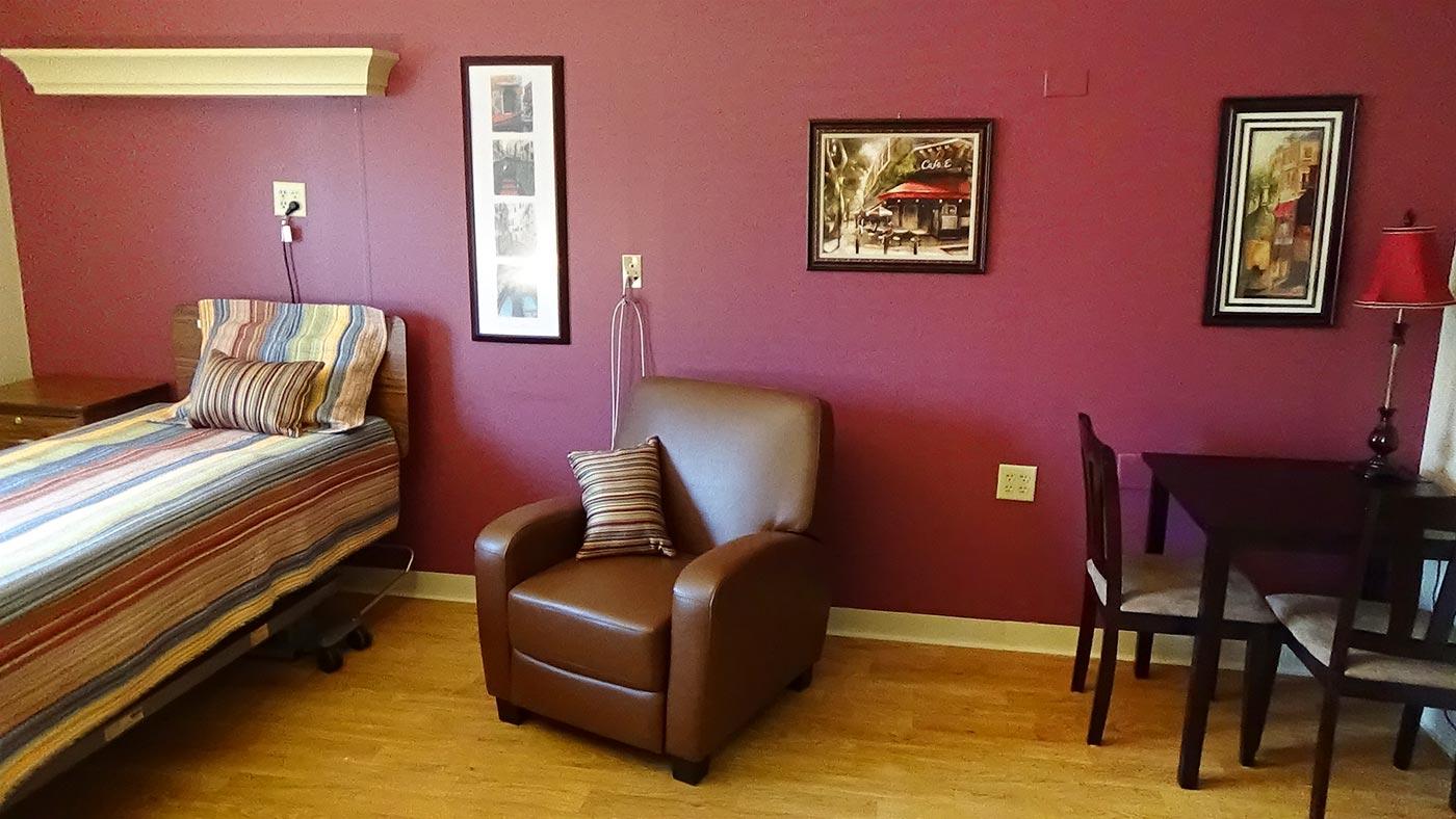 Resident Room Interior
